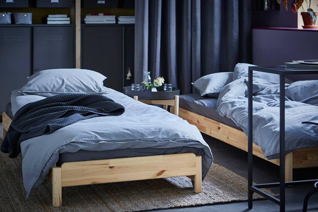 Ikea Slaapkamer Eenpersoonsbedden : Ideeën nodig voor je slaapkamer eenpersoonsbed stapelbaar utaker