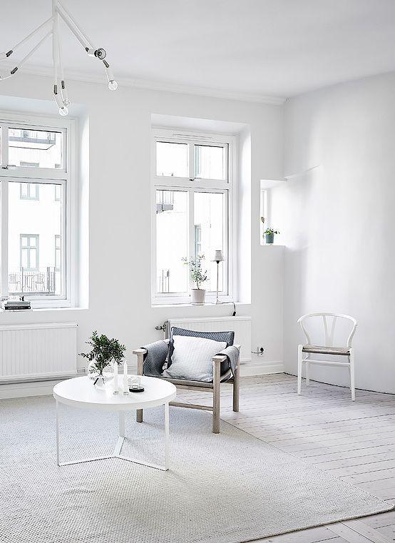 White And Soft Grey INTERIOR Pinterest Interiors Urban - Apartment soft minimalist decor