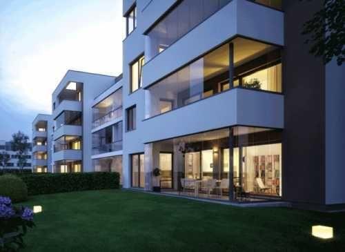 Neubau Fassade »Bianco1 The Parkside of Life