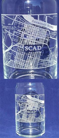 These College Town Map Personalized Glasses Are Etched With Your Choice Of College Town These Unique Glasses Are Perf Personalized Glass Town Map College Town