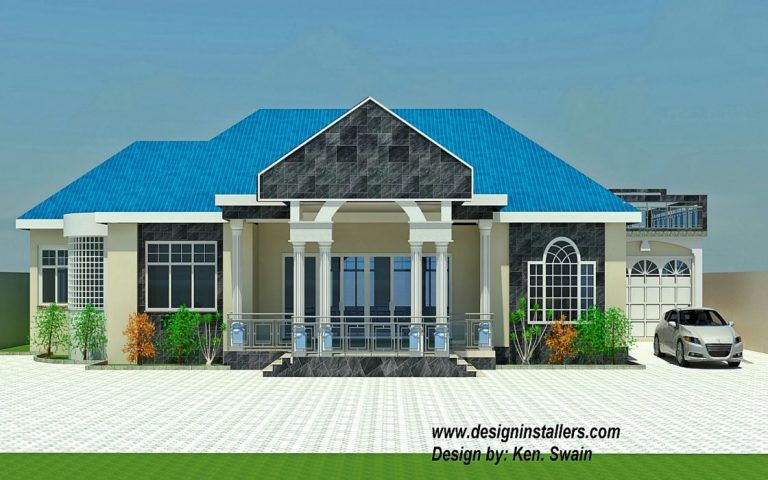 Nice 4 Bedroom House Design In Ghana 14 In Home Design