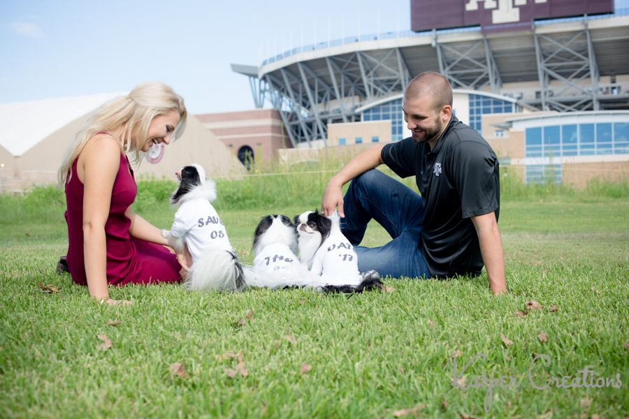 College Station Engagement Photography Texas A M Katie And