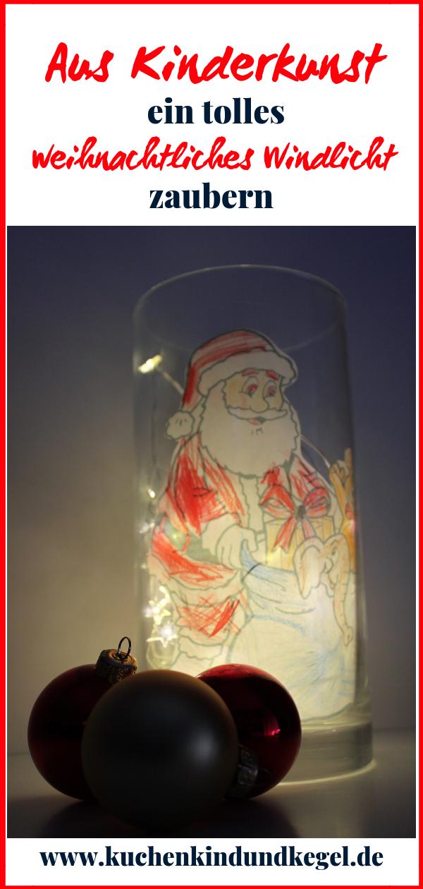Diy Basteln Mit Kindern Weihnachtliches Windlicht Weihnachten