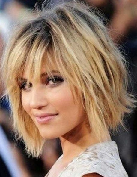 razor cut bob hairstyles