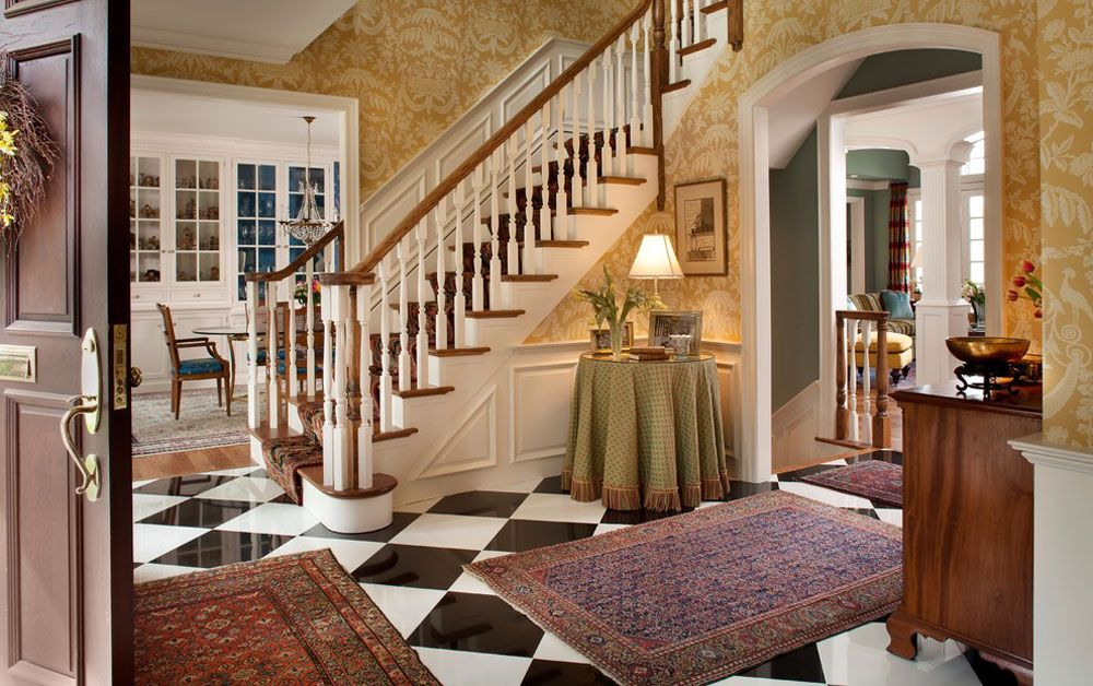 Genial Creating The Interior Design For Entrance Hall (8)