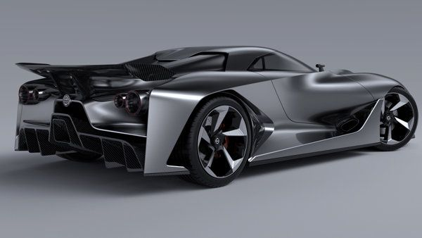 Exclusive Nissan Previews The Future Of Gt R With Vision Gran Turismo Concept Concept Cars Vintage Concept Cars Nissan Cars