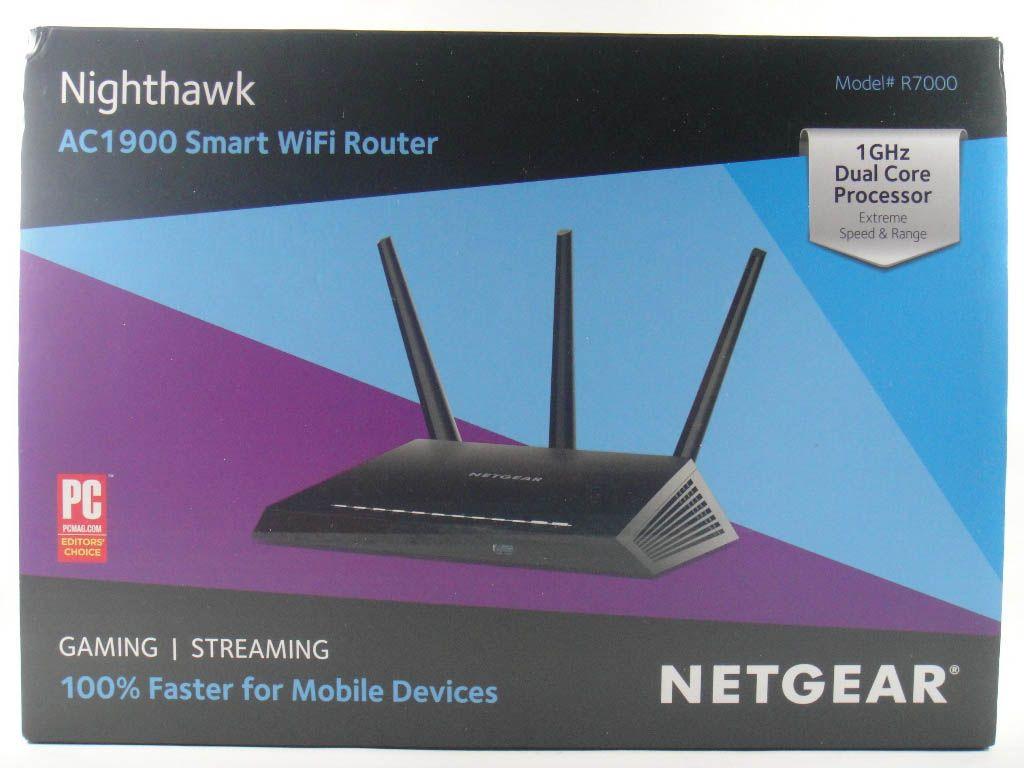 Netgear Nighthawk R7000 AC1900 Smart WiFi Router Wifi