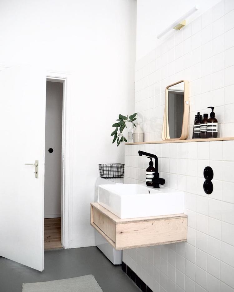 5 Gorgeous Scandinavian Bathroom Ideas: Pin En Everyday Living
