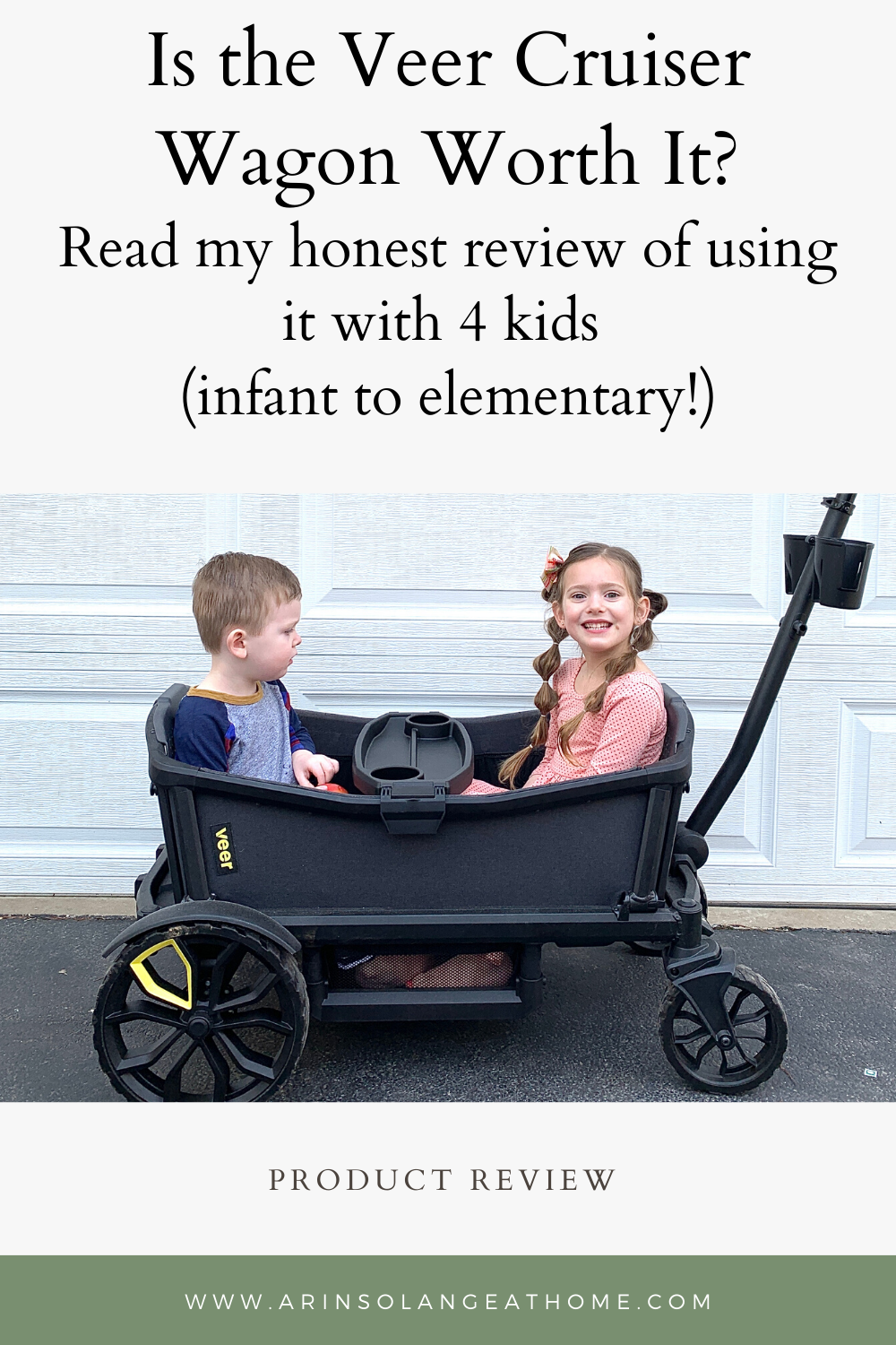 Are you looking into a wagon stroller? Find out if the Veer Cruiser wagon is worth it. A mom of 4 bought this (with her own money!) and reviews its use for her family ranging from baby to toddler to elementary school.
