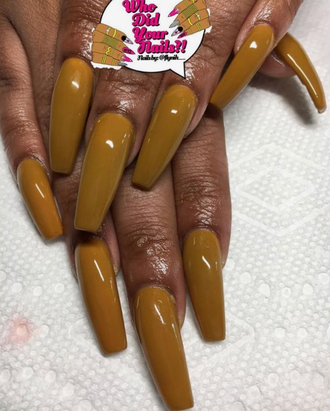 Dark yellow pinterest: @marrcge / Blondie princess♕ | nails ...