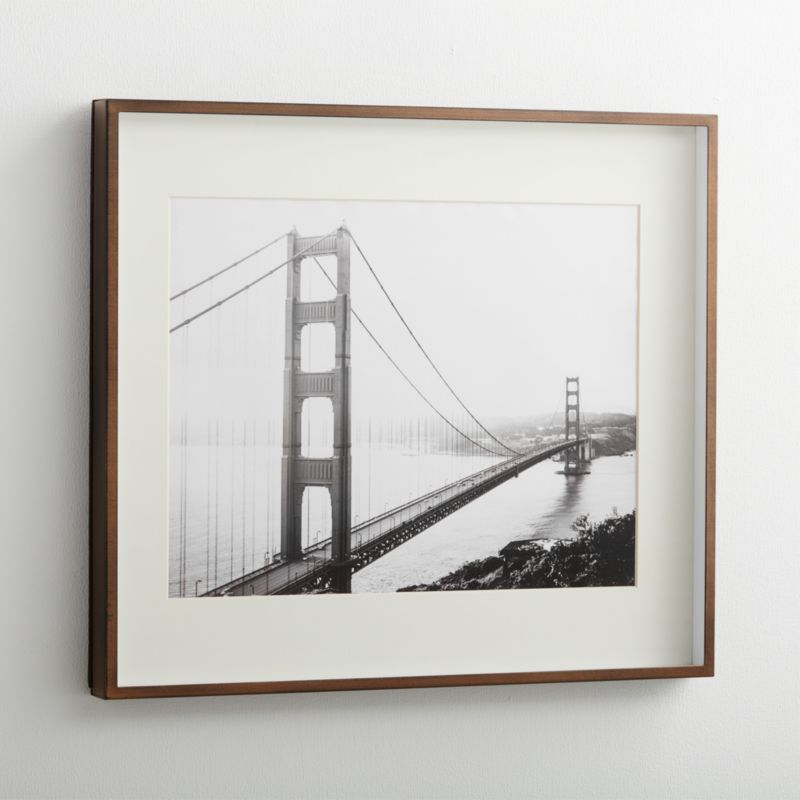 Brushed Antique Bronze 11x14 Frame Reviews Crate And Barrel Frames On Wall Rustic Picture Frames 11x14 Frame
