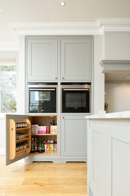 Classic Grey and White Kitchen - Bespoke handmade wood kitchens by ...