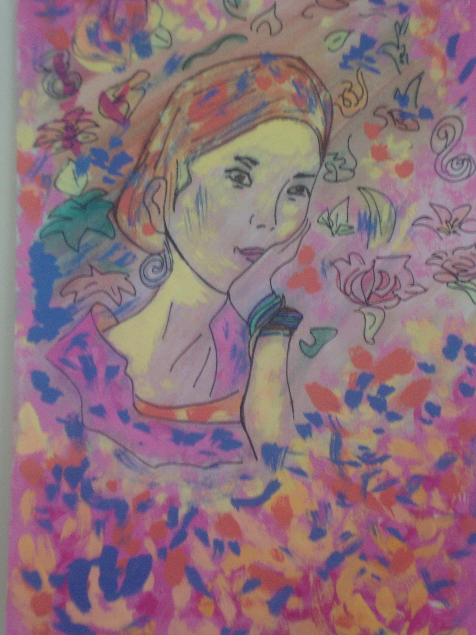 Pintura de Ana Série