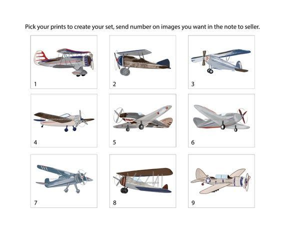 Airplane Art Decor, Vintage Airplanes Wall Art Prints for Boys Room, Pick your Art Choices  Airplane Art Decor, Vintage Airplanes Wall Art Prints for Boys Room, Pick your Art Choices  #Airplane #Airplanes #Art #Boys #choices #Decor #Pick #prints #Room #Vintage #Wall