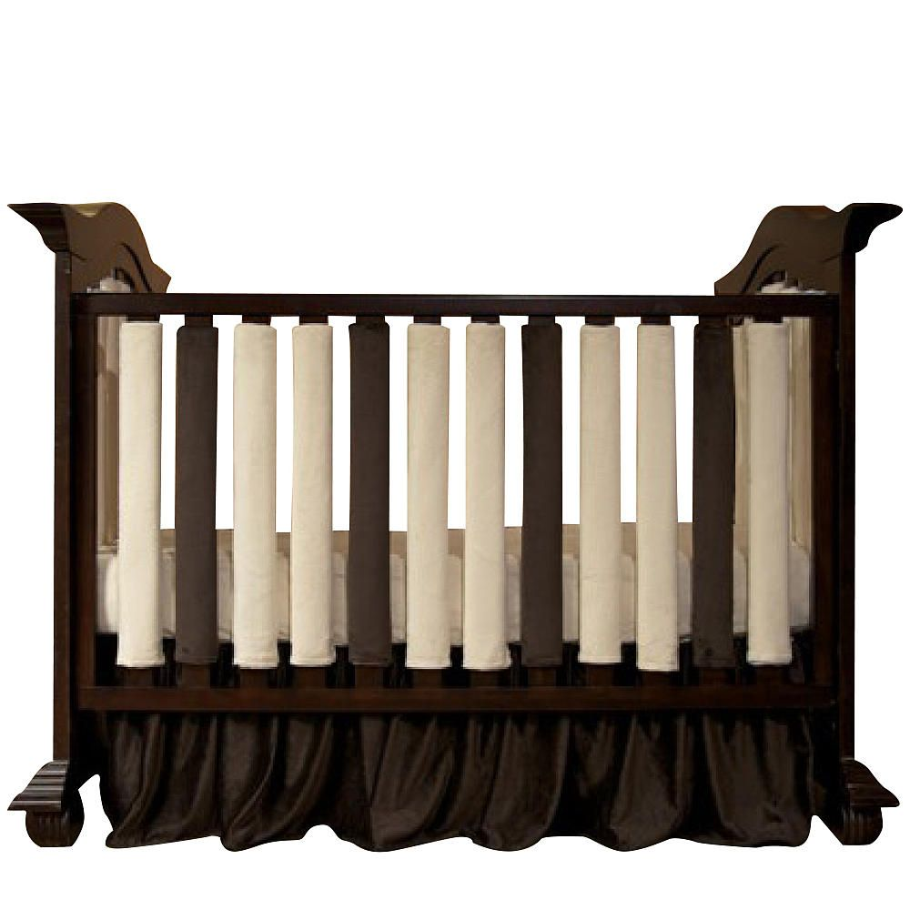 Crib bumpers babies r us - Go Mama Go Safe Alternative Wonder Bumpers 38 Pack Cream Chocolate Crib Bumpersbaby