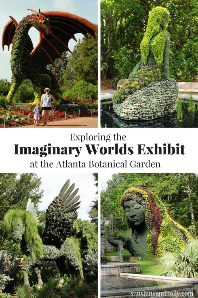 Exploring The Imaginary Worlds Exhibit At The Atlanta Botanical