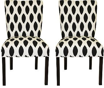 One Kings Lane Carly Side Chairs, Pair | #Chic Only #Glamour Always