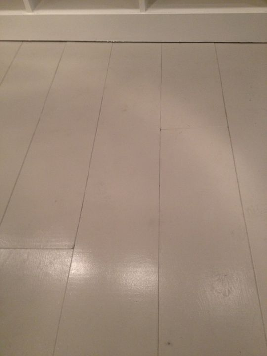 Painted Plywood Floor Yes Cut Plywood In 1 Wide Strips Nail