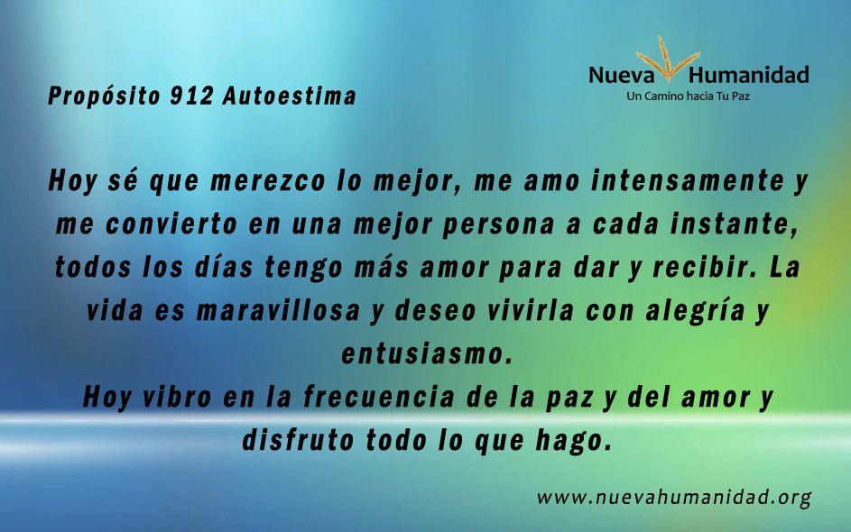 Propósito 912  Autoestima