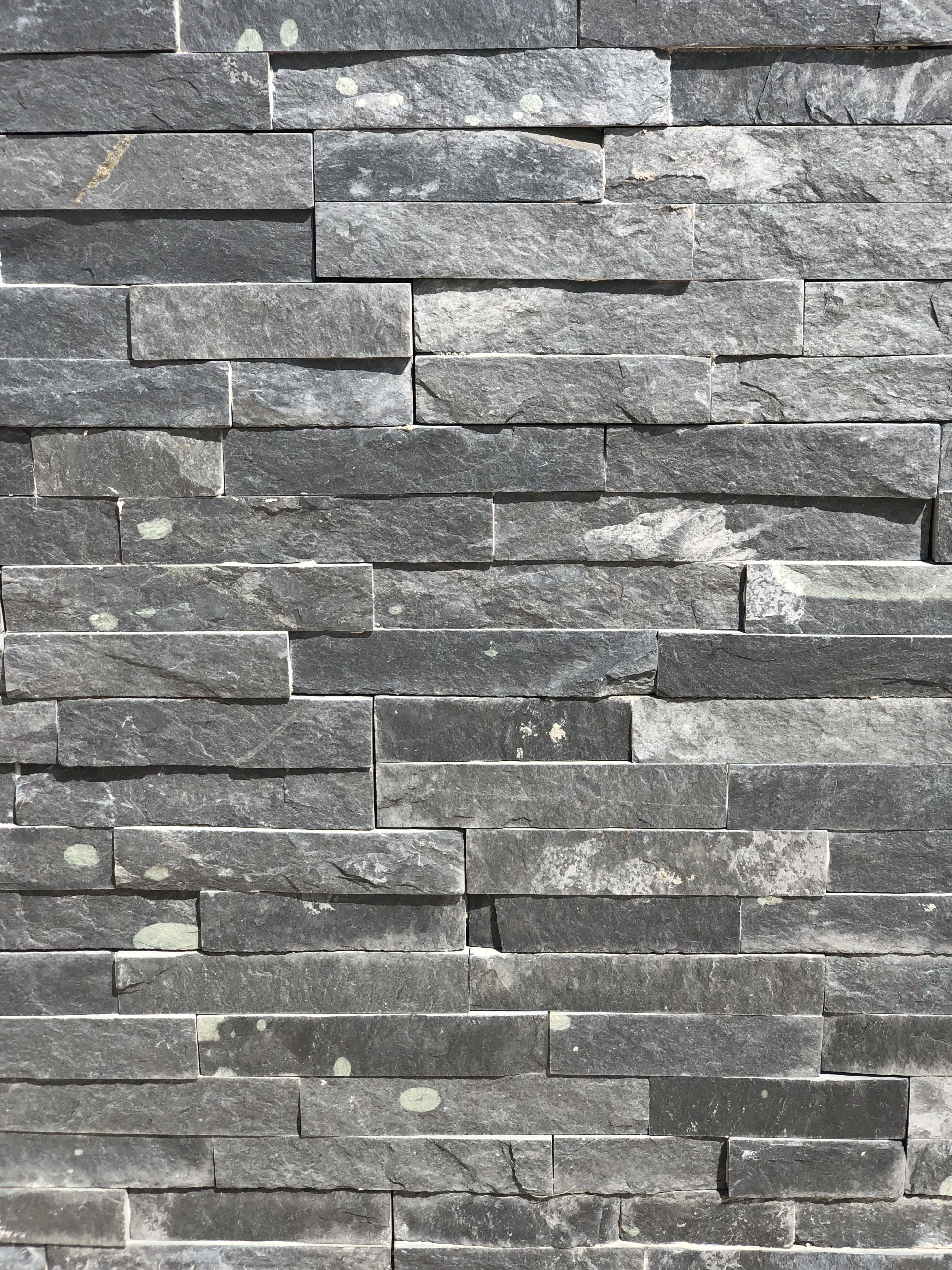 Plaquette Pierre Naturelle Ardoise parement pierre, pierre à bâtir, barrette à bâtir et