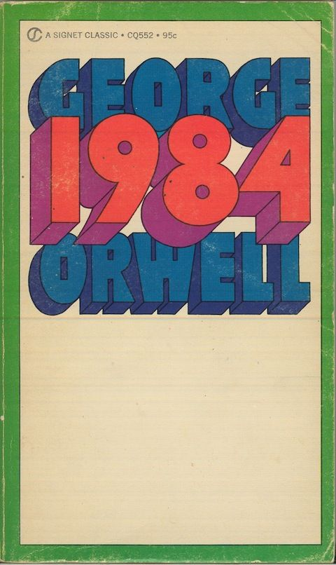 How does technology function in the course of the book George Orwell 1984?