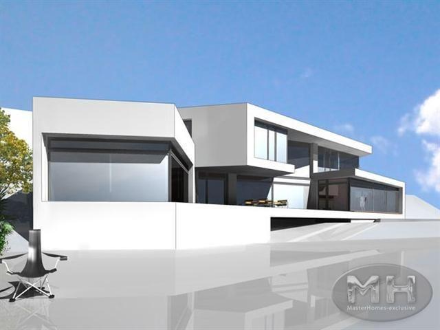 Maison design individuelle à lu0027architecture moderne Zurich - facade de maison moderne