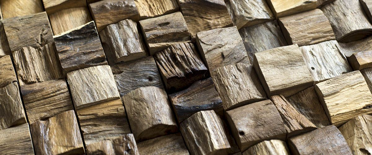 Wood Cladding supplies high-end 3D interlocking wooden wall cladding for an affordable price. Several types of teak wood panels from Yogyakarta, Indonesia.