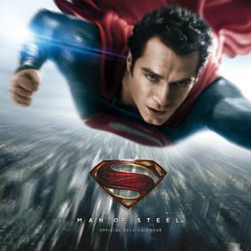 Your cant have a heroes borad and not inclued Superman man of steel!   2014 official calendar cover