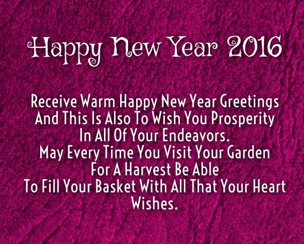 Quotes New Year 2016