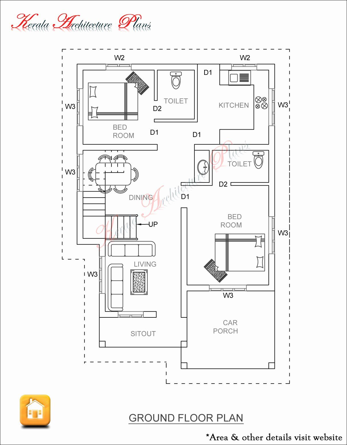 1400 Sq Ft House Plans Inspirational 3 Bed Room 1500 Square Feet House Plan In 2020 Small House Plans 1500 Sq Ft House Shop House Plans
