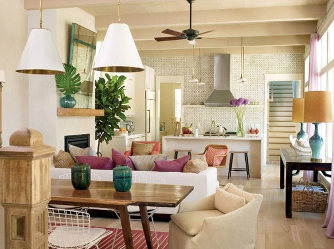 Beautiful 11 Feng Shui Living Room Decorations: 11 Feng Shui Living Room Decorations  With White Sofa And Wooden Table And Colorful Pillows