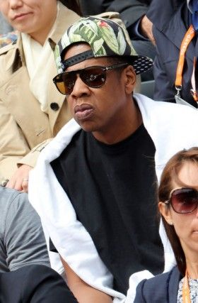 4bfa11469d Jay-Z relaxed in France wearing Persol PO0649 sunglasses and printed ...