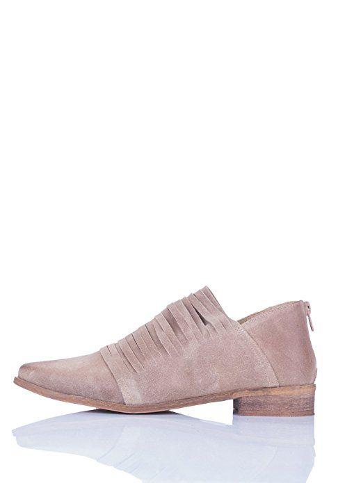 52906d22feec1 Amazon.com | Simply Love 'Camillia' Flat Shoes Leather Stripes Low ...