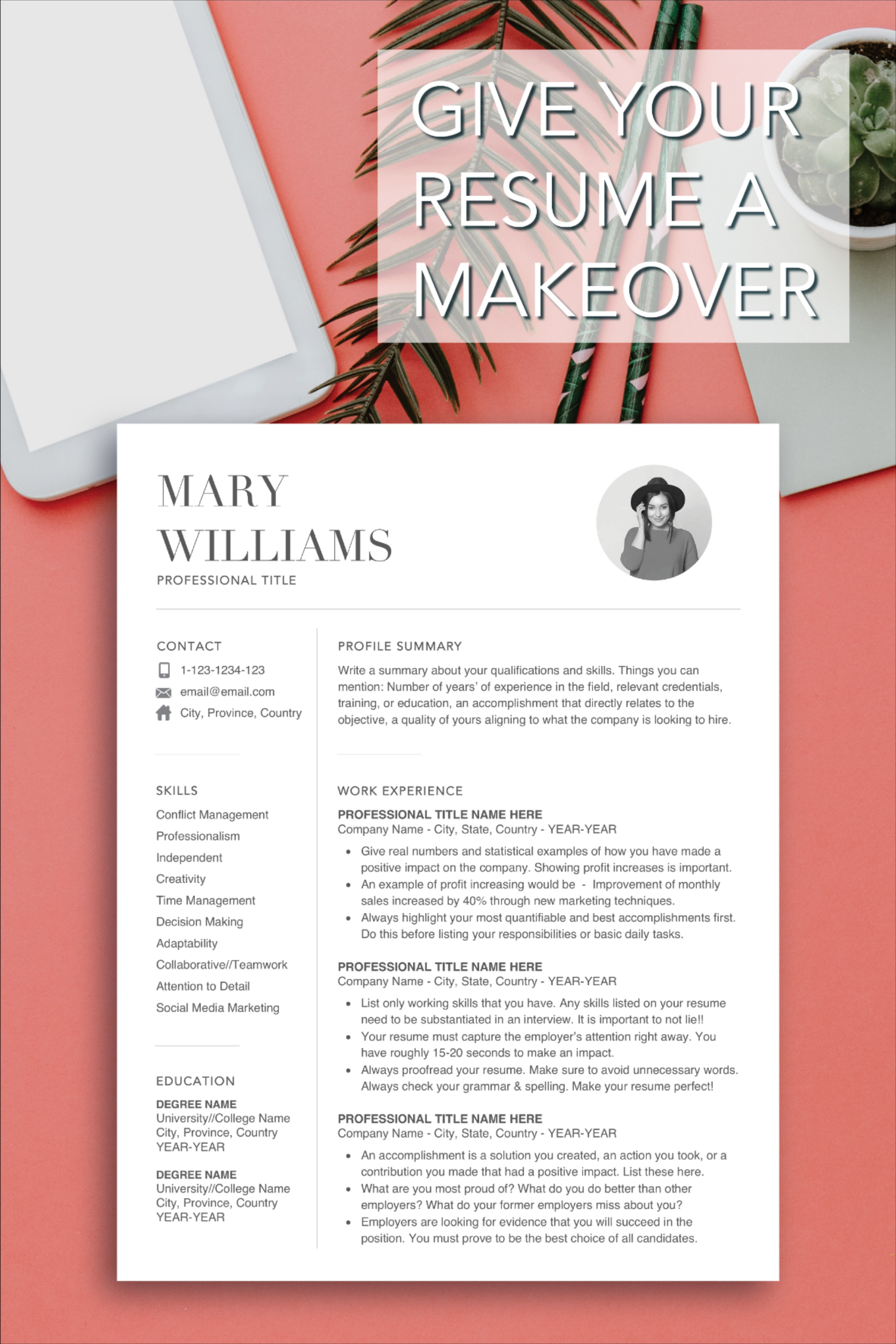 Bestselling Resume Template Designs Reference letter