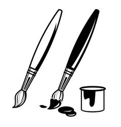 Paint Brush Icons Paint Brushes Painting Art Logo