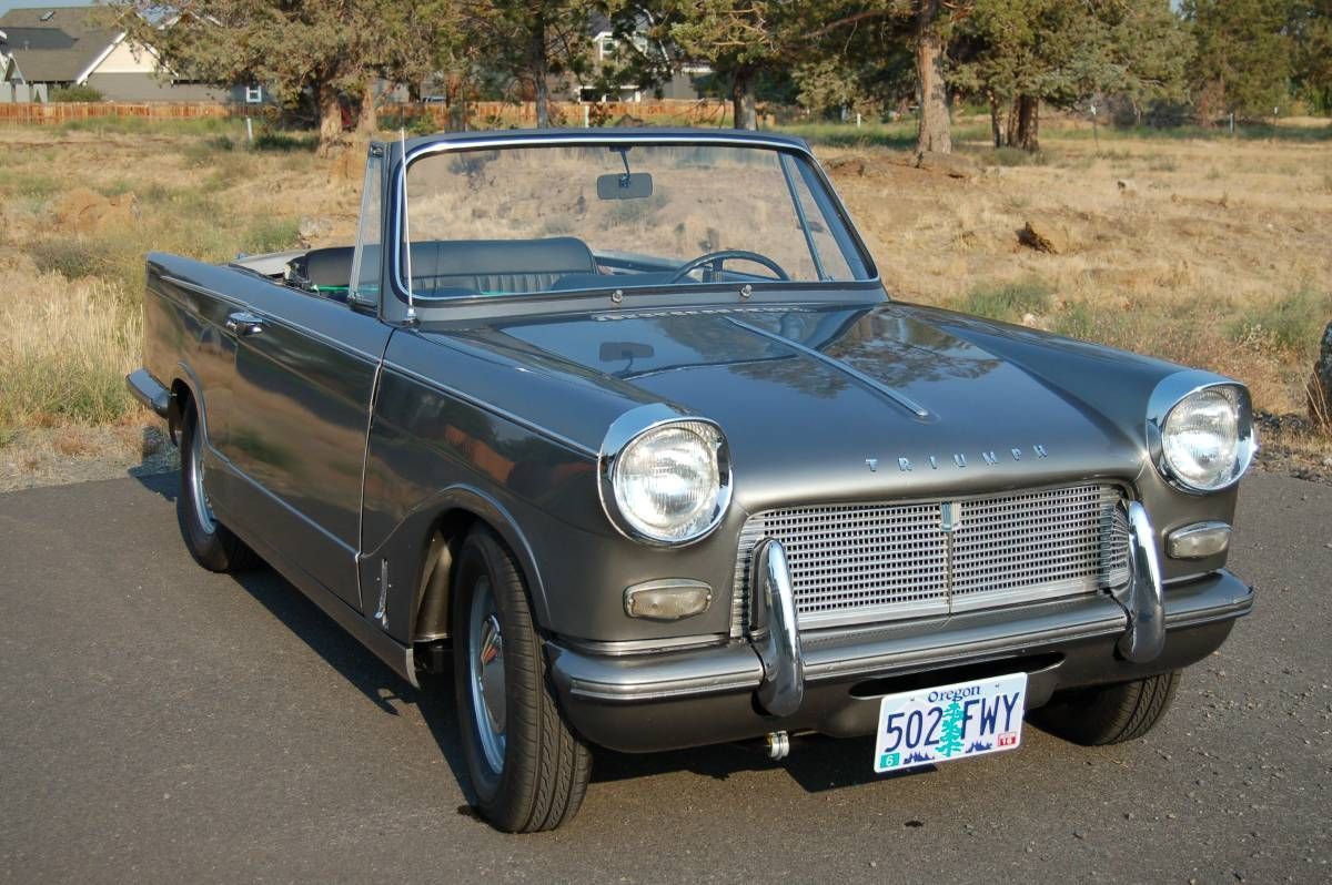 1963 Triumph Herald Convertible 7,500 Bend, Oregon