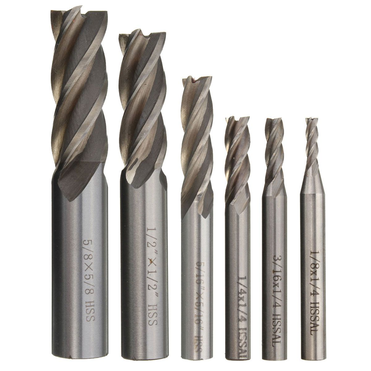 1 INCH 4 FLUTE HSS END MILL NEW IN PACKAGE