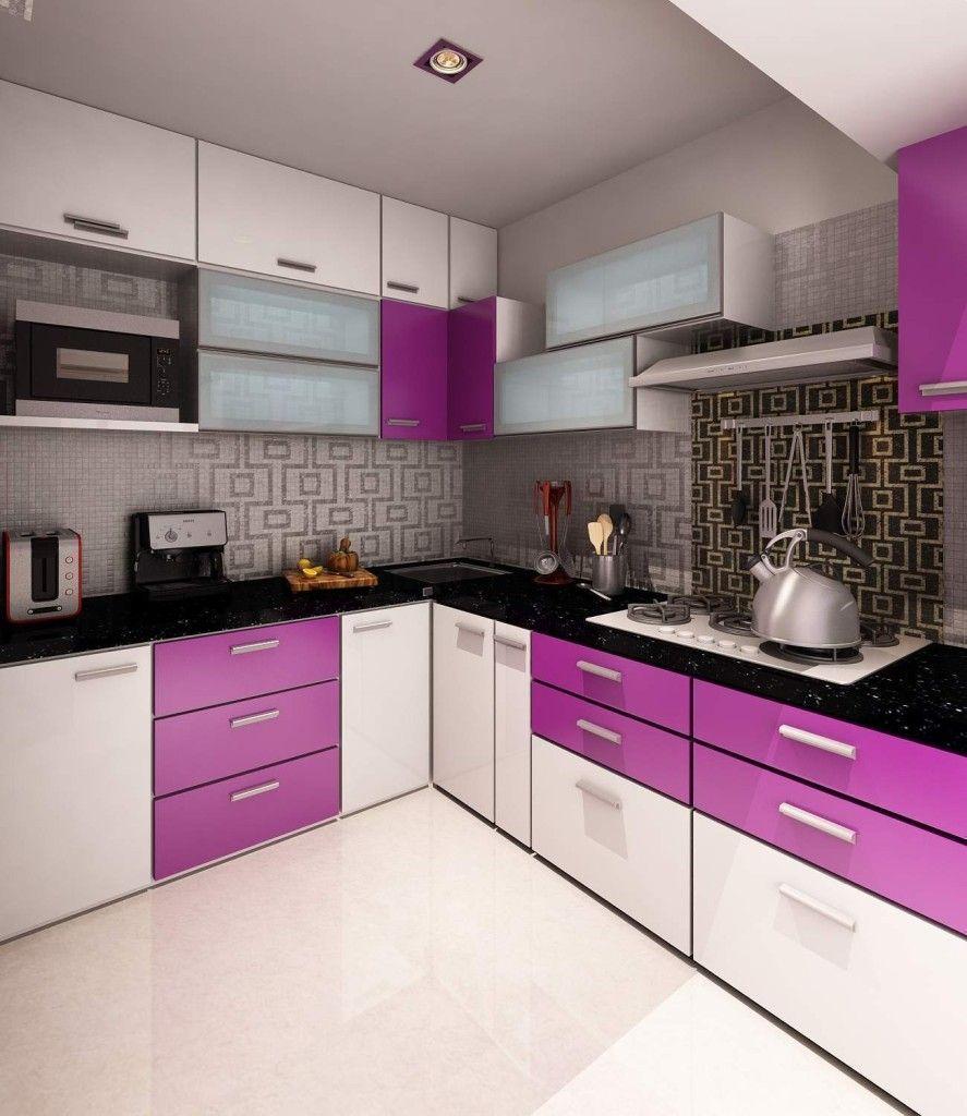 Best Kitchen Gallery: Small Purple Kitchen Cabi S Images Kitchen Design Ideas All of Purple Kitchen Interior Design on rachelxblog.com