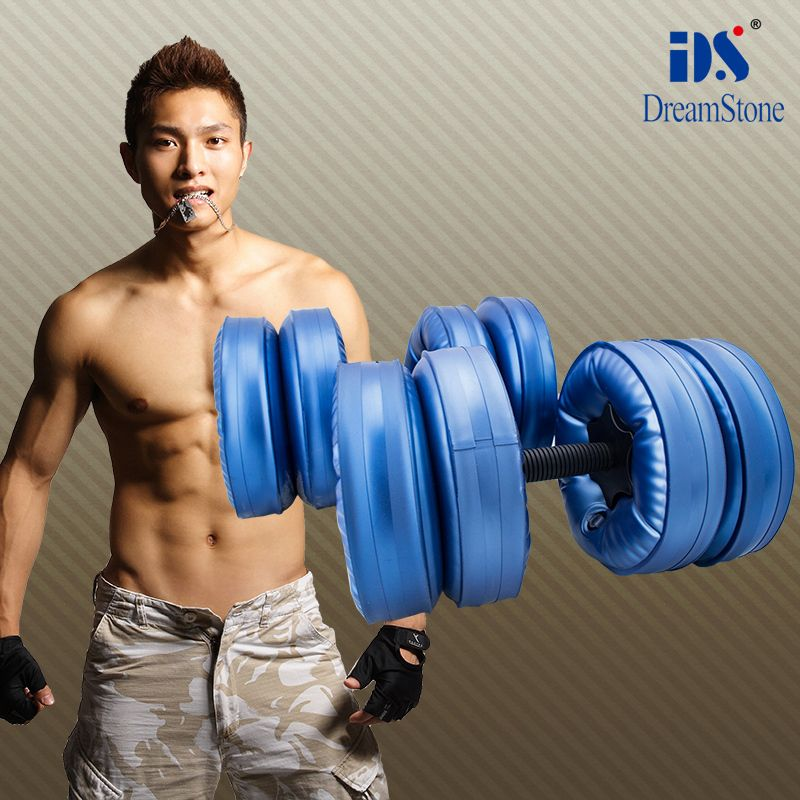 Free Shipping For New Creation Product 4 Bag Water Filled Dumbbell Weights For Sale 1 Pair Have Bodybuilding Training Powerlifting Training Dumbbells For Sale