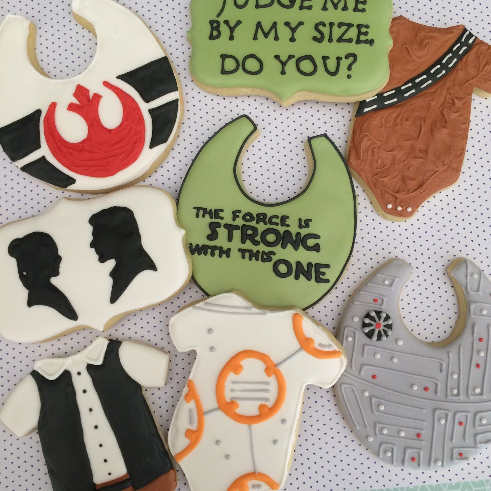 Tutorial By Sweet Jenny Belle For Star Wars Baby Shower