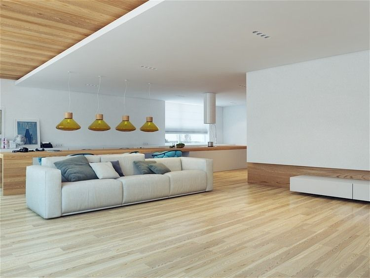 Apartment, Sofa Chusion Decor And Wooden Flooring On Living Room Design  Surprising Yacht Interior Applied