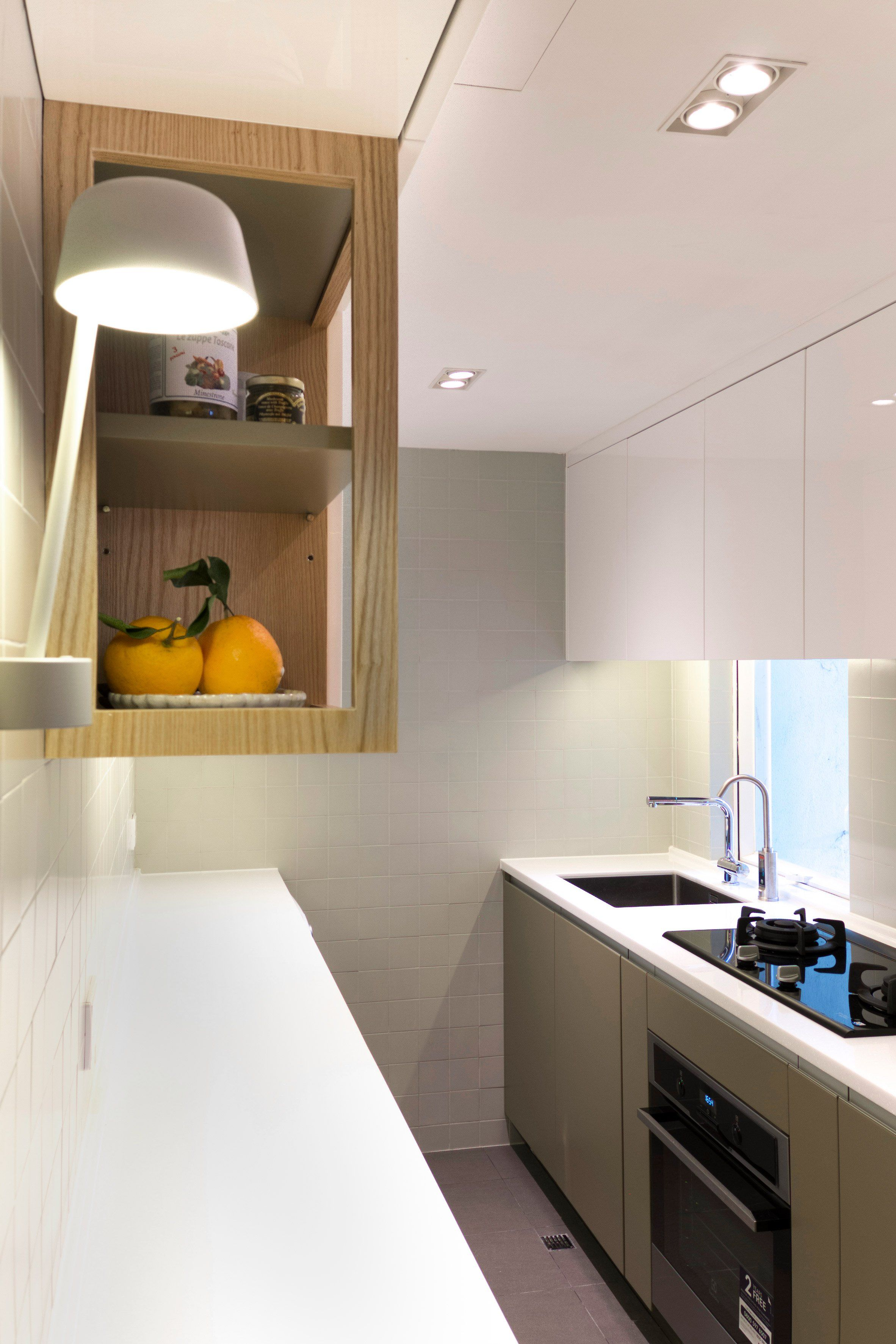 kitchen design in flats. Flat 27A by Design Eight Five Two  DEFT Hong Kong Interiors