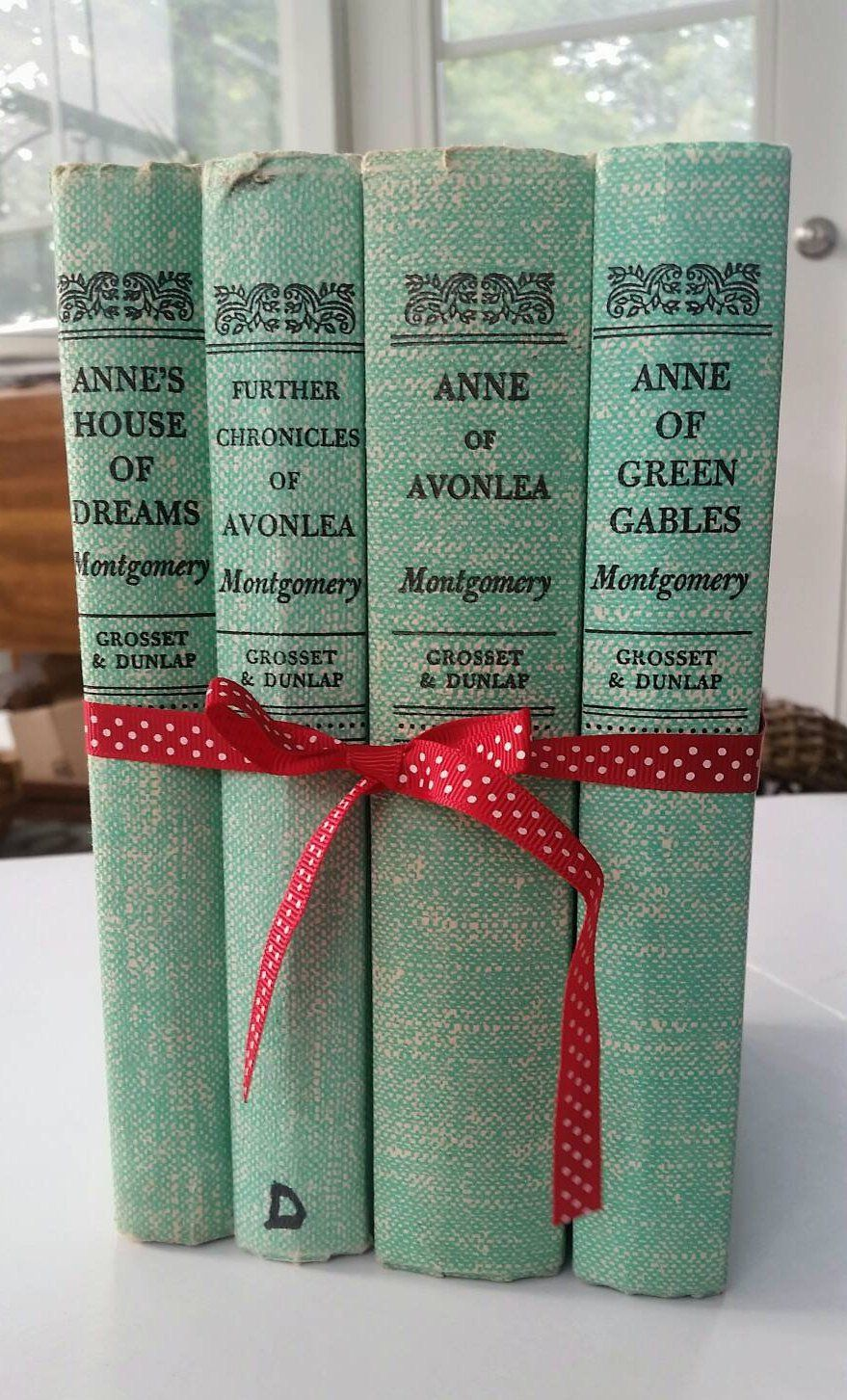 The Latest Addition To My Shop Anne Of Green Gables Books Set Of
