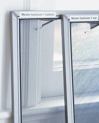 Fall Homekeeping Tips Window Screens Windows