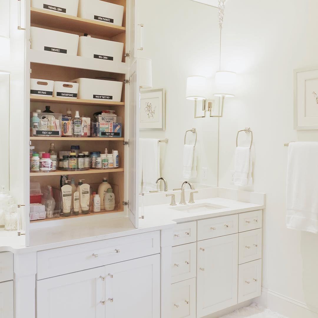 Bathroom Vanity Cabinet Organization Organize Ideas Home Decor Bathroom Decor Decor Interior Design