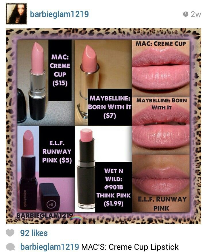 dupes for mac creme cup lipstick dupes makeup dupes
