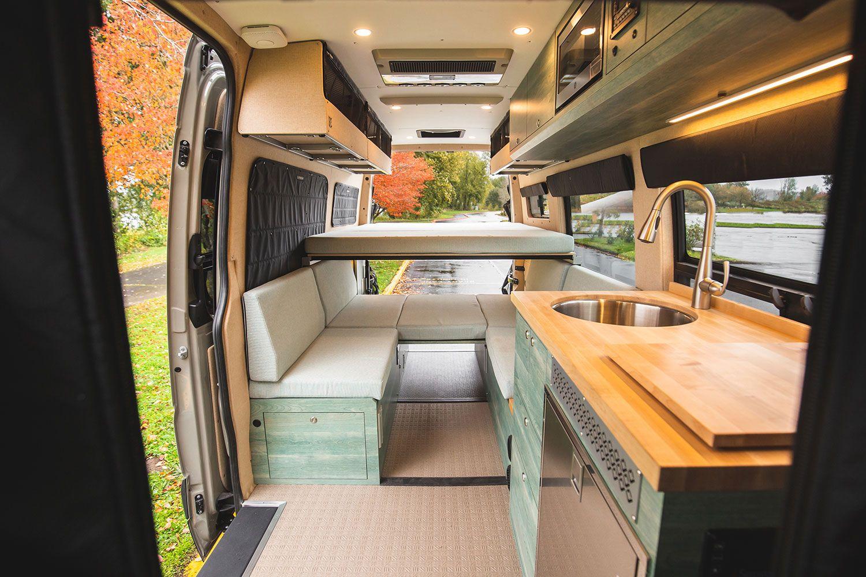 Built In 2019 Going Coastal Is A Custom Peak Series Van Designed