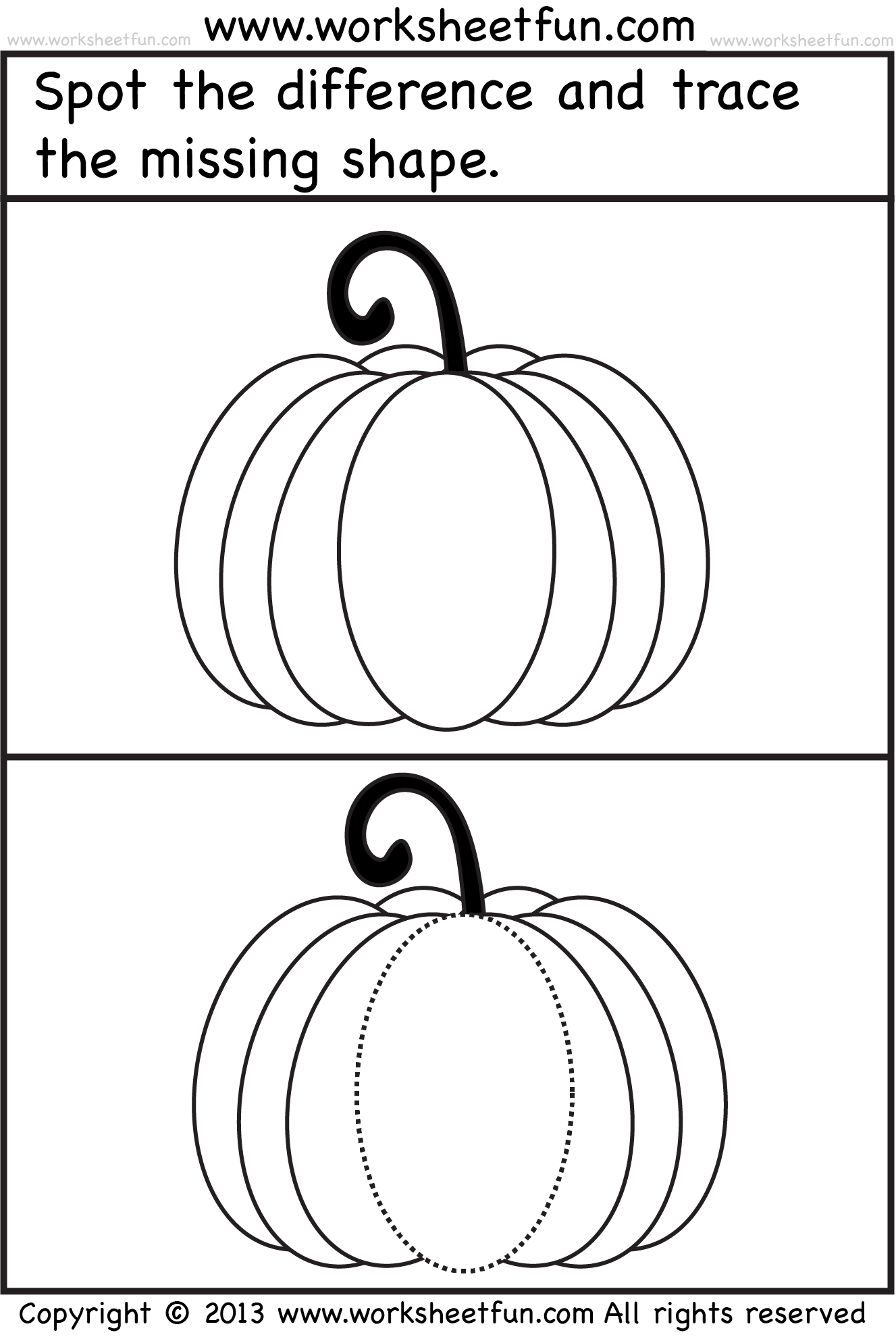 Halloween Worksheet With Images
