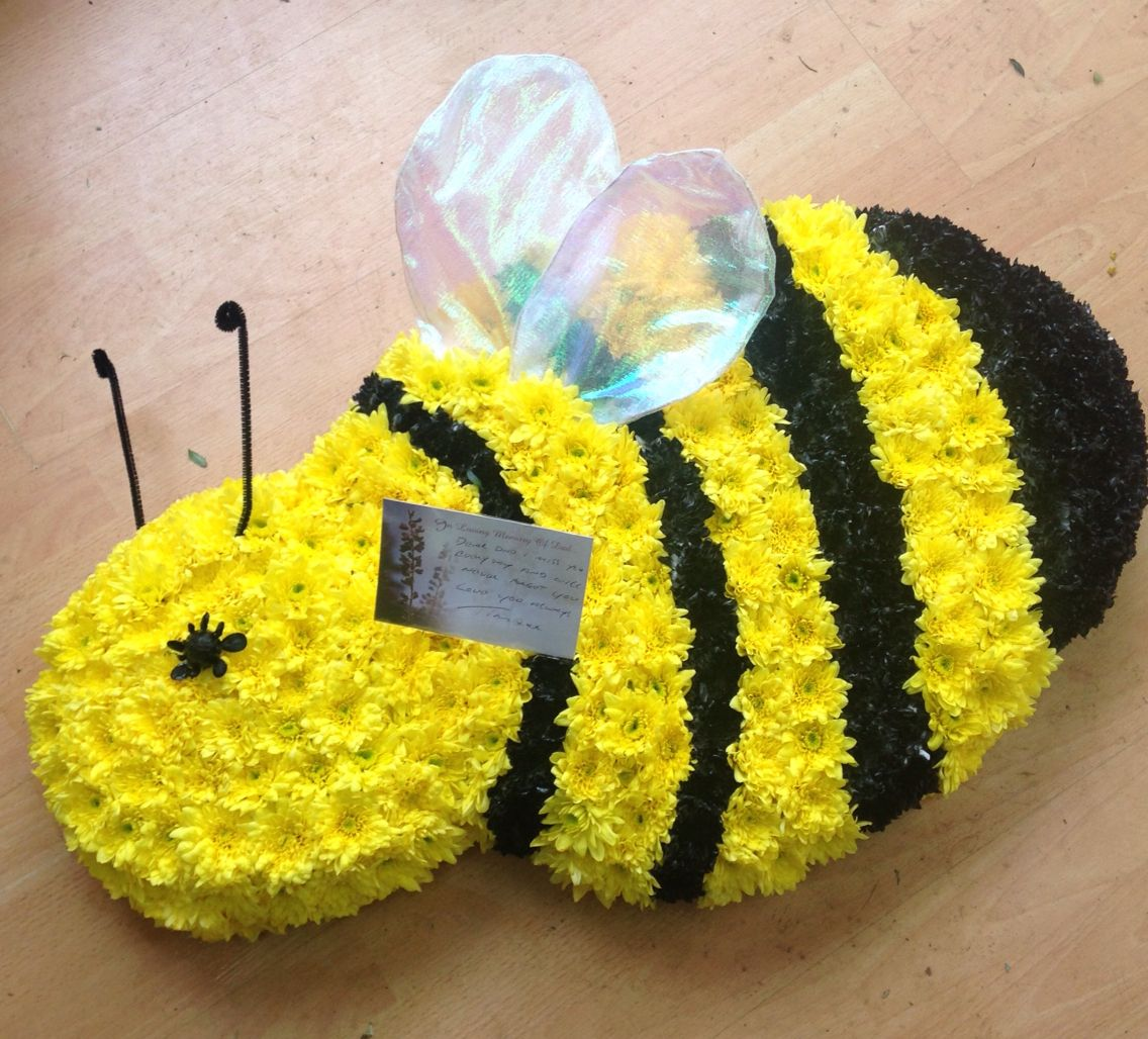 Bumble bee funeral tribute sympathy flowers pinterest sympathy bumble bee funeral tribute izmirmasajfo Choice Image