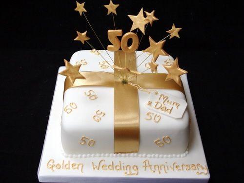 Sainsburys Wedding Cake Decorations : gold anniversary cake designs Anniversary Cake Ideas ...
